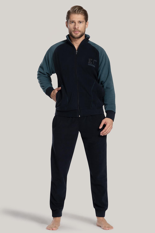 E-shop SET modré mikiny a kalhot James