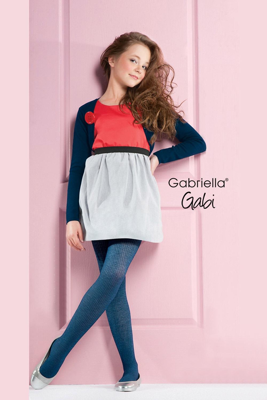 Dívčí bavlněné punčochové kalhoty Gabi 3609686193
