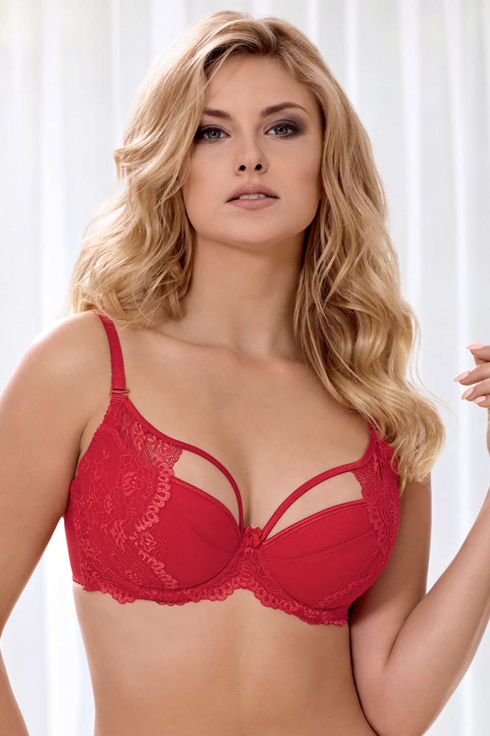 Podprsenka Marella Red Push-Up