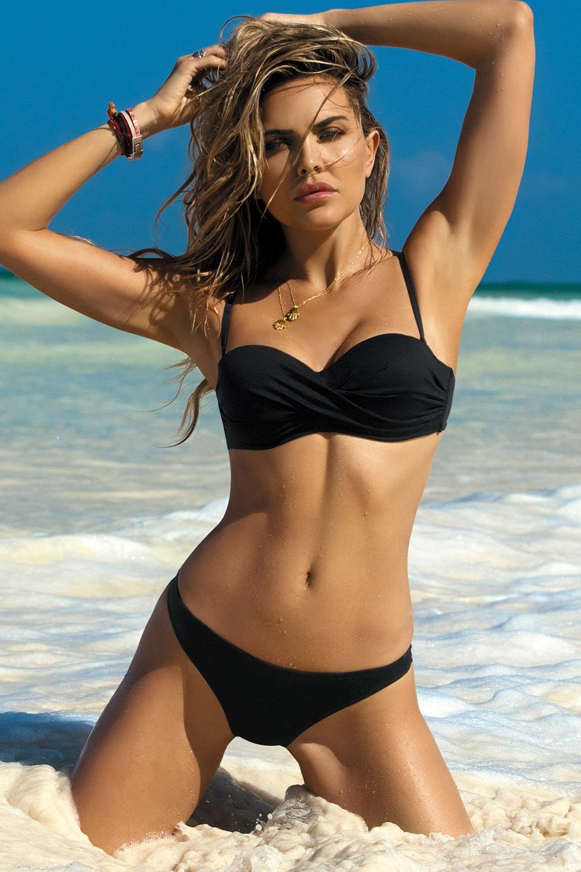 Etna Dámské dvoudílné plavky Bridget Blak černá 36