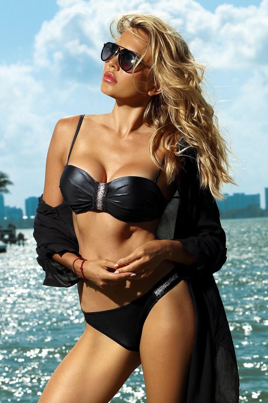 fe831490f Dámské dvoudílné plavky Acapulco černé černá 36 e-shop >>