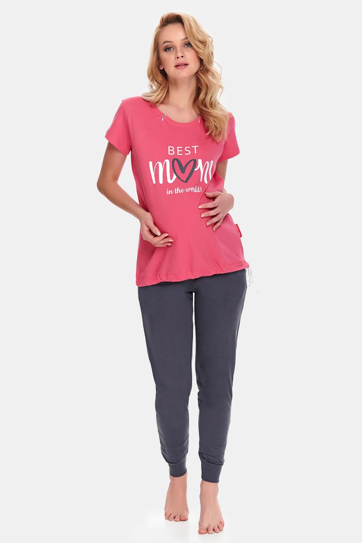 E-shop Mateřské kojicí pyžamo Best Mom Rose