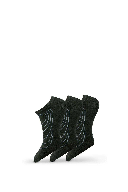 3pack ponožek Rex 02 černá