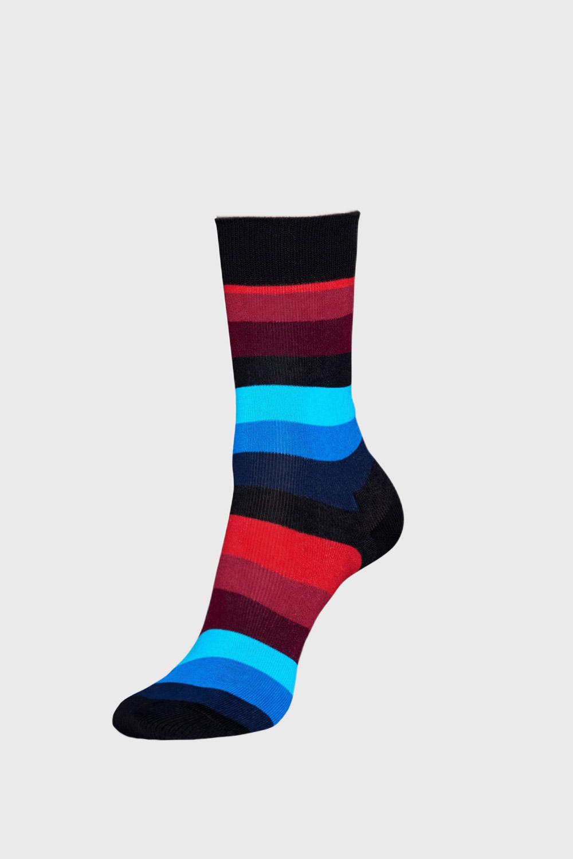 Happy Socks Ponožky Happy Socks Stripe černé