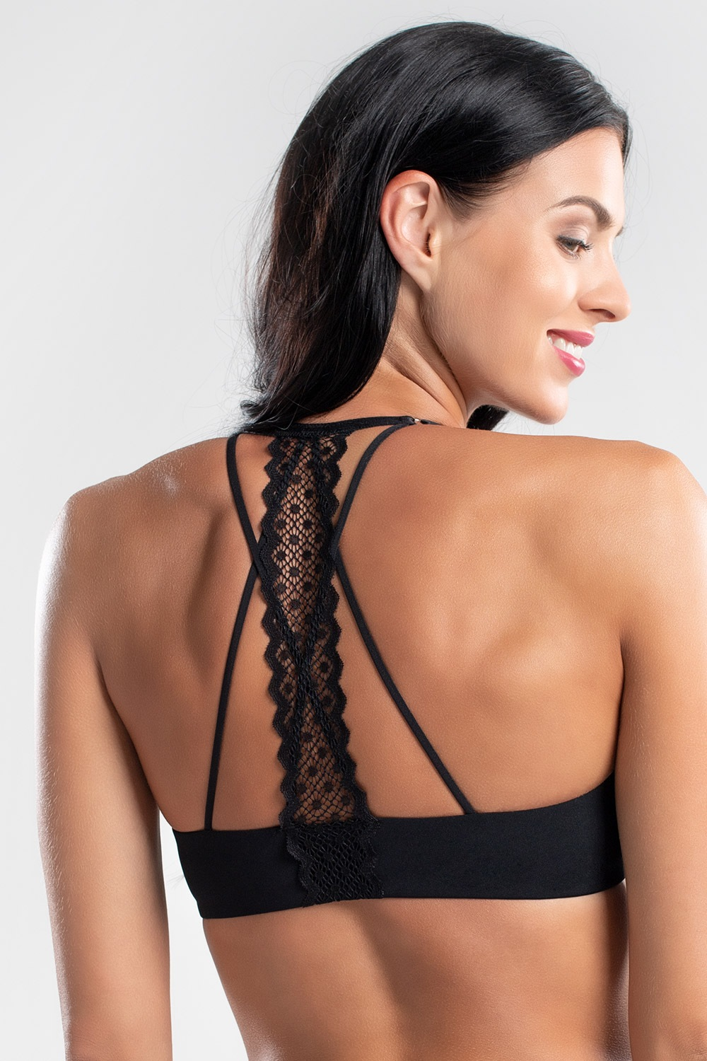 Podprsenka Mabelle Black Push-Up
