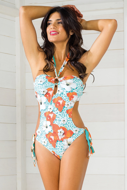 7452ea1e85 Dámské monokiny Vacanze z kolekce Luxury Garden e-shop   . Dámské  jednodílné plavky ...