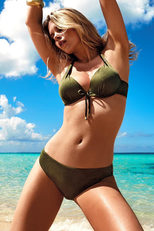 7753eebbe Dámské dvoudílné plavky Nancy I zelená 36 e-shop >>