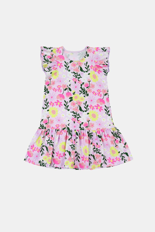 GarNA MAMA sp. Z o.o. Dívčí šaty Flowers barevná 98