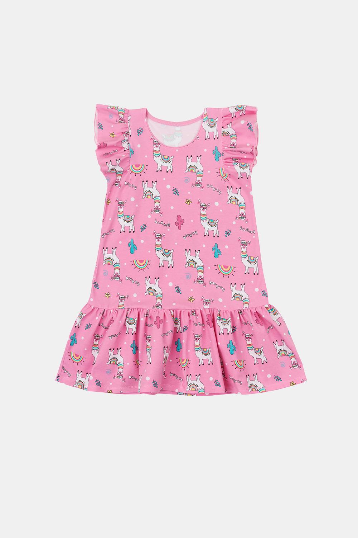 GarNA MAMA sp. Z o.o. Dívčí šaty Lamma růžová 98
